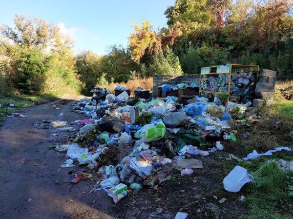 """Тальнівчани звинувачуюють уманське підприємство """"Екоклінер"""" у сміттєвому колапсі"""